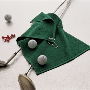 Luxury range golf towel Thumbnail